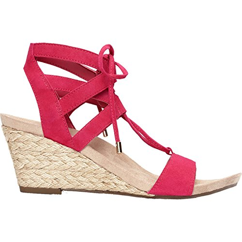 Vionic with Orthaheel Technology Women's Tansy Pink Suede...