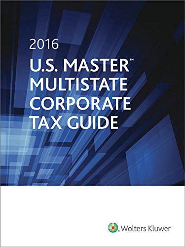 U.S. Master Multistate Corporate Tax Guide (2016)