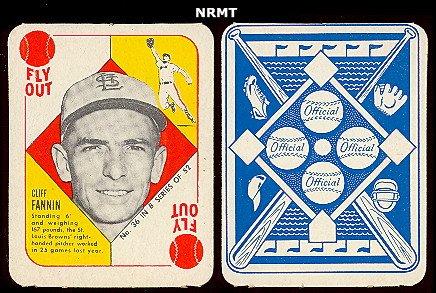 Amazoncom 1951 Topps Blue Backs Baseball Card 36 Cliff Fannin