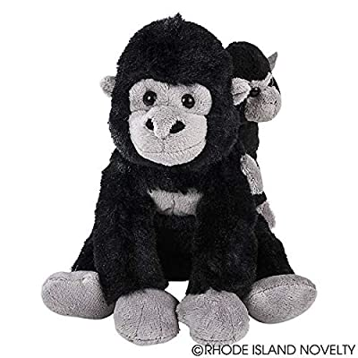 Adventure Planet Mini Birth of Life Gorilla with Baby Plush: Toys & Games