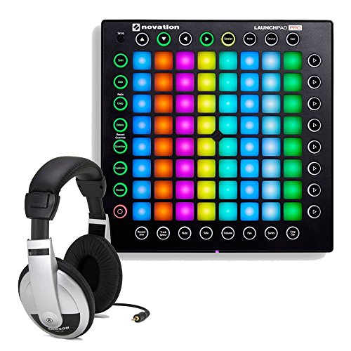 Novation Launchpad Pro USB MIDI Controller for Ableton Live with FREE Samson HP10 Headphones