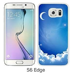 Cloud Moon (2) Hard Plastic Samsung Galaxy S6 Edge G9250 Protective Phone Case