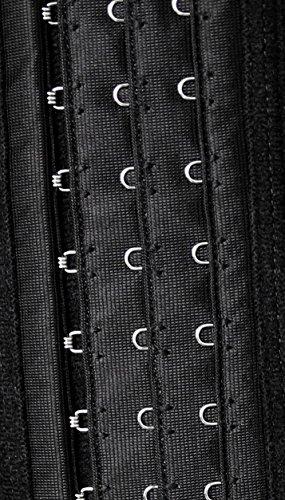Charmian Women's Spiral Steel Boned Latex Waist Training Cincher Corset Vest Royalblue nqcdprMNmP