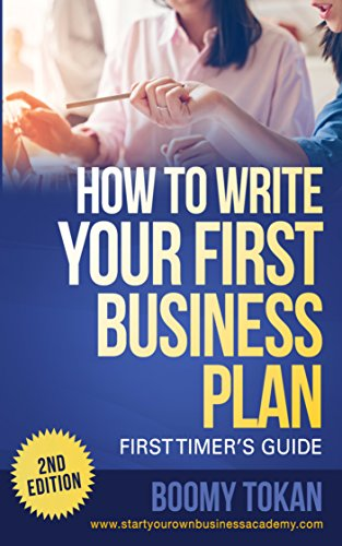 Amazon How To Write Your First Business Plan First Timers
