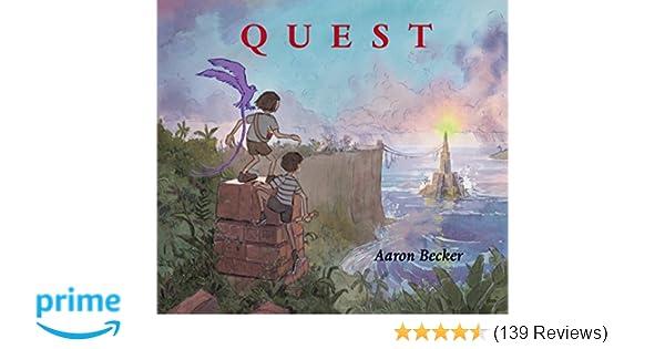 520bd39e08 Quest (Aaron Becker s Wordless Trilogy)  Aaron Becker  9780763665951   Amazon.com  Books
