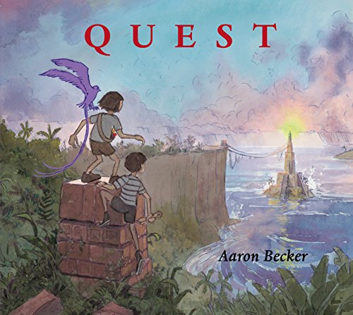 Quest (Aaron Becker's Wordless Trilogy) from Candlewick Press MA