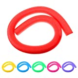 Homyl 6 Pieces Lightweight Flexible Assorted Water Floating Swimming Pool Noodle Swim Float Training Aid Accessories