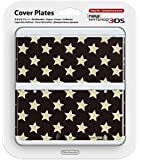 Kisekae Plate No.029 (Star Gold x Black) [Nintendo 3DS]
