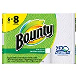 Bounty Paper Towels, White, Big Roll, 6 Count Reviews