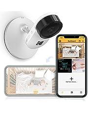Cámara para bebés KODAK Cherish C120 con app móvil - Cámara para bebés de alta resolución con zoom remoto, audio bidireccional, visión nocturna, largo alcance