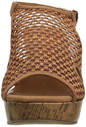 Jellypop Tan Women's Wedge Sandal Sizzle rwWSqUFXr