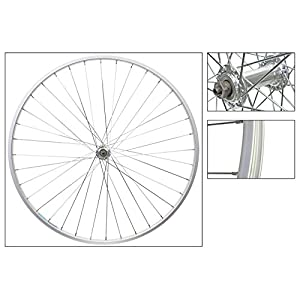 Wheel Front 700 x 25, WEI AS23X, Silver, QR, QR Alloy Hub, 14g UCP, 36H