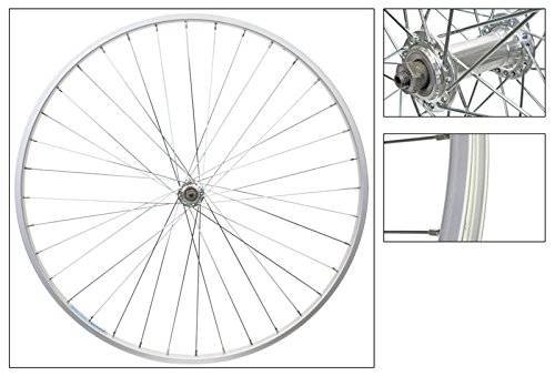 Wheel Front 700 x 25, WEI-AS23X, Silver, QR, QR Alloy Hub, 14g UCP, 36H