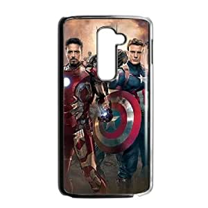 Avengers Age Of Ultron LG G2 Cell Phone Case Black present pp001_9606772