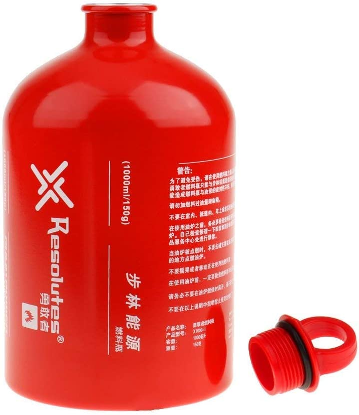Fuel Bottle Camping Picknick Ölflasche Brennstoffflasche Alkohol Öl Flaschen