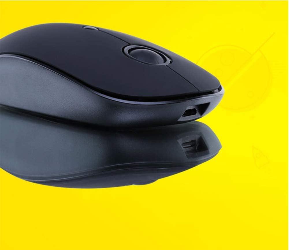 2.4G Souris sans Fil Recharge Ordinateur De Bureau Éclairage pour Ordinateur Portable Muet Jeu Souris Branchez Et Jouez 2500DPI 4 Bouton,D C