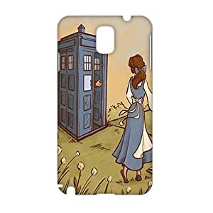 Angl 3D Cartoon Police Box Phone For Case Ipod Touch 4 Cover