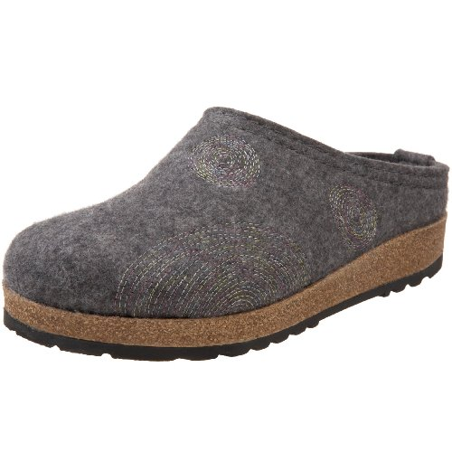 Haflinger Women's Spirit Slip-On,Grey,39 EU/9 M US