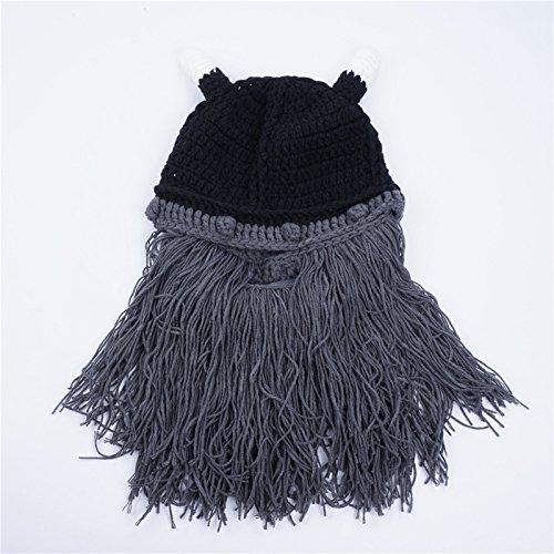 Invierno Planas de Gysad Sombrero Gris Divertido Gorras Sombrero Interesante Sombrero Fiesta Vikingos Unisex CqETgw6