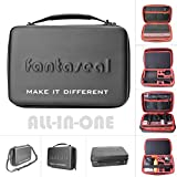 """Fantaseal Action Camera Accessories Case, 13"""" Luxury Wateproof Dual-layer EVA Anti-Shock Protective Case for GoPro Hero 5 /4 /3+/3 SJCAM Xiaomi Yi 4K DBpower Travelling Accessories Case Outdoor Bag"""