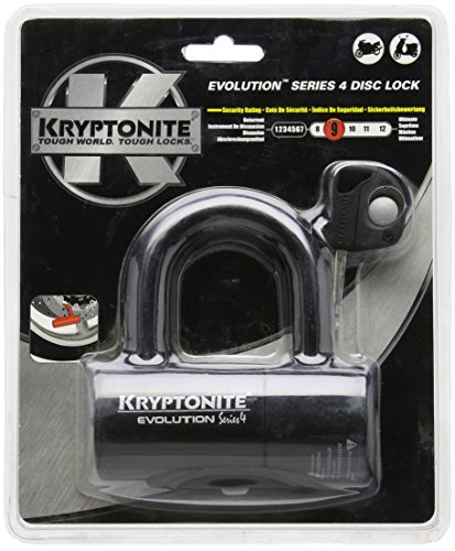 Kryptonite 999607 Evolution Series-4 Black 14mm Disc Lock