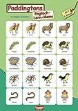 Englisch lernen mit Paddington: 2. Schuljahr, ab 7 Jahre - Paddingtons Englisch-Lern-Memo: 2 Tableaus mit je 20 Kärtchen