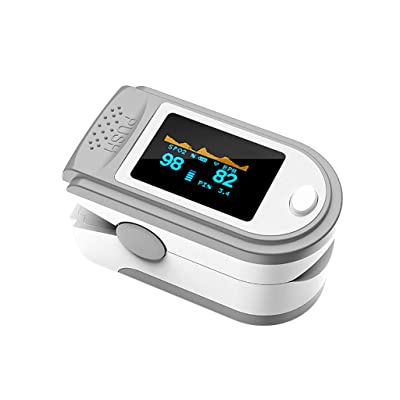 WI Fingertip Blood Oxygen Saturation Monitor with LED Screen Display Lightweight: Toys & Games