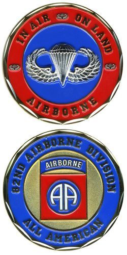 NEW 82nd Airborne Division Challenge Coin - Ships in 24 hours