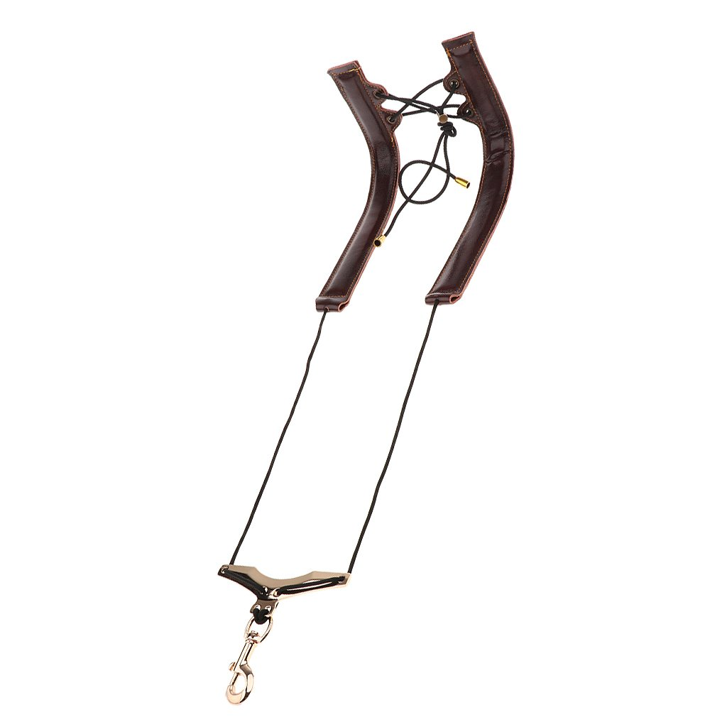 MagiDeal Adjustable Saxophone Shoulder Neck Strap Sax Harness Belt Concert Stage Accessory - Black, as described non-brand 0318000400029DEA