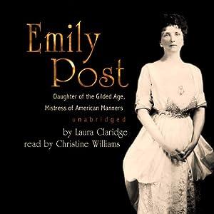 Emily Post Audiobook