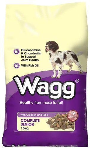 Wagg Light Senior Dog Food 15kg Amazon Co Uk Pet Supplies