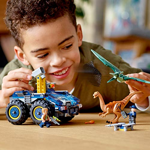 LEGO Jurassic World Gallimimus and Pteranodon Breakout 75940, Dinosaur Building Kit for Kids, Featuring Owen Grady, Claire Dearing and ACU Trooper Minifigures for Creative Play, New 2020 (391 Pieces)