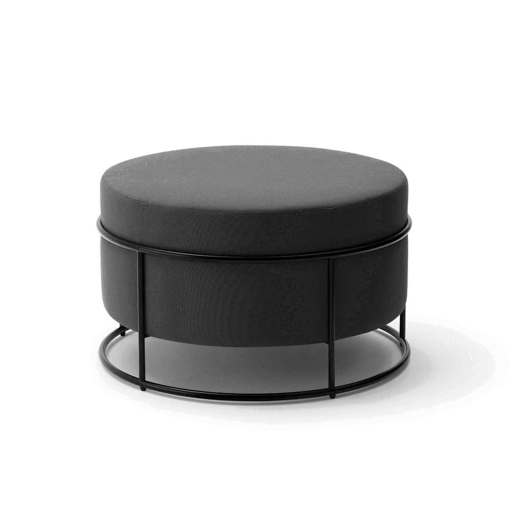 G 47x79cm(19x31inch) Footstool,Modern Simple Round Fabric Small Stool,Sofa Stool Makeup Stool shoes Bench Home Stool-b 47x36cm(19x14inch)