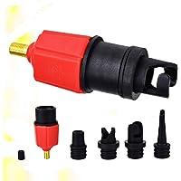 CLISPEED Adaptador de Bomba Inflável Sup Bomba de Ar Conversor de Válvula de Ar Adaptador Falou Placa de Fixação para…