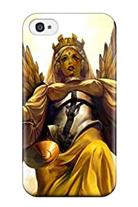 6902711K43943332 Unique Design Iphone 4/4s Durable Tpu Case Cover Goddess Of Justice