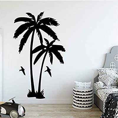 yiyiyaya Planta de árbol de Coco Etiqueta de la Pared para la Sala ...