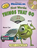 Monsters Inc Things That Go, Ben Nussbaum, 1590694112