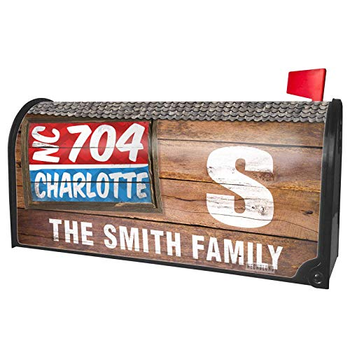 (NEONBLOND Custom Mailbox Cover 704 Charlotte, NC)