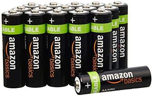 amazon aa rechargeable batteries - 1