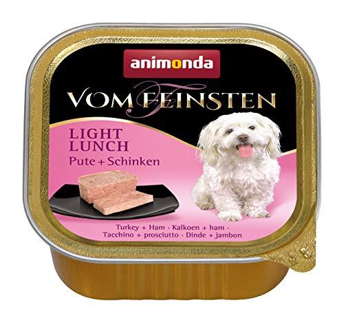 Animonda Vom Feinsten Adult Hundefutter, Nassfutter für ausgewachsene Hunde von 1-6 Jahren, verschiedene Geschmacksrichtungen