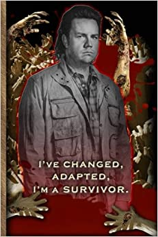I've Changed, I'm A Survivor - Eugene Porter - The Walking Dead Journal Notebook: The Walking Dead Lined Journal A4 Notebook, for school, home, or ... x 9