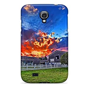 New Snap-on Jesussmars Skin Case Cover Compatible With Galaxy S4- The Emerald Lake