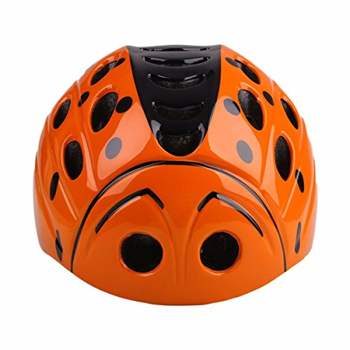 Kids Child Children Toddler Orange Bicycle Cycling Bike Helmet - Safety Protection Ultralight Sport Bike Skateboarding Skate Inline Skating Rollerblading Helmet for youth boy girl Student Pupil (Ultralight Razor)