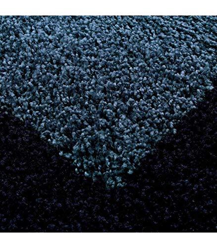 Hochflor Langflor Wohnzimmer Shaggy Teppich 2 2 2 Farbig Florhöhe 3cm - Rot-Bordeaux, 300x400 cm B07H2PX58L Teppiche b05c5b