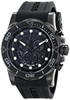 "Swiss Legend Men's 21368-BB-01 ""Avalanche"" Stainless Steel Watch with Black Silicone Band by Swiss Legend"