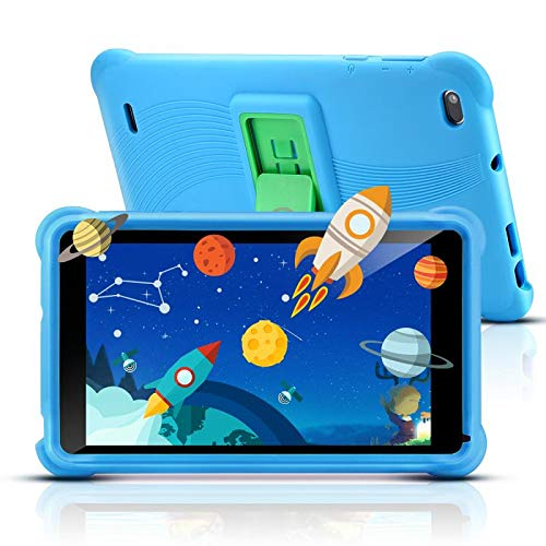 qunyiCO 7 inch Kids Tablet 32GB Android 10.0 GO WiFi Camera Bluetooth 2GB RAM Eye Protection HD Touch Screen 1024*600…