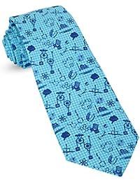 eb4ee062ad70 Premium Funny Ties For Men  Mens Woven Conversational Tie Novelty Neckties