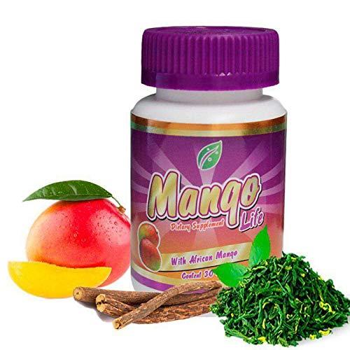 Orange African Mango Tea - Mango Life 30 Day Supply Spirulina, Green Te, African Mango Loss Weight