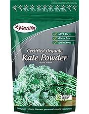 Morlife Kale Powder, Certified Organic, 150 grams