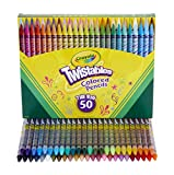 Crayola Twistables Colored Pencils, Great for Coloring Books, 50 Count, Gift